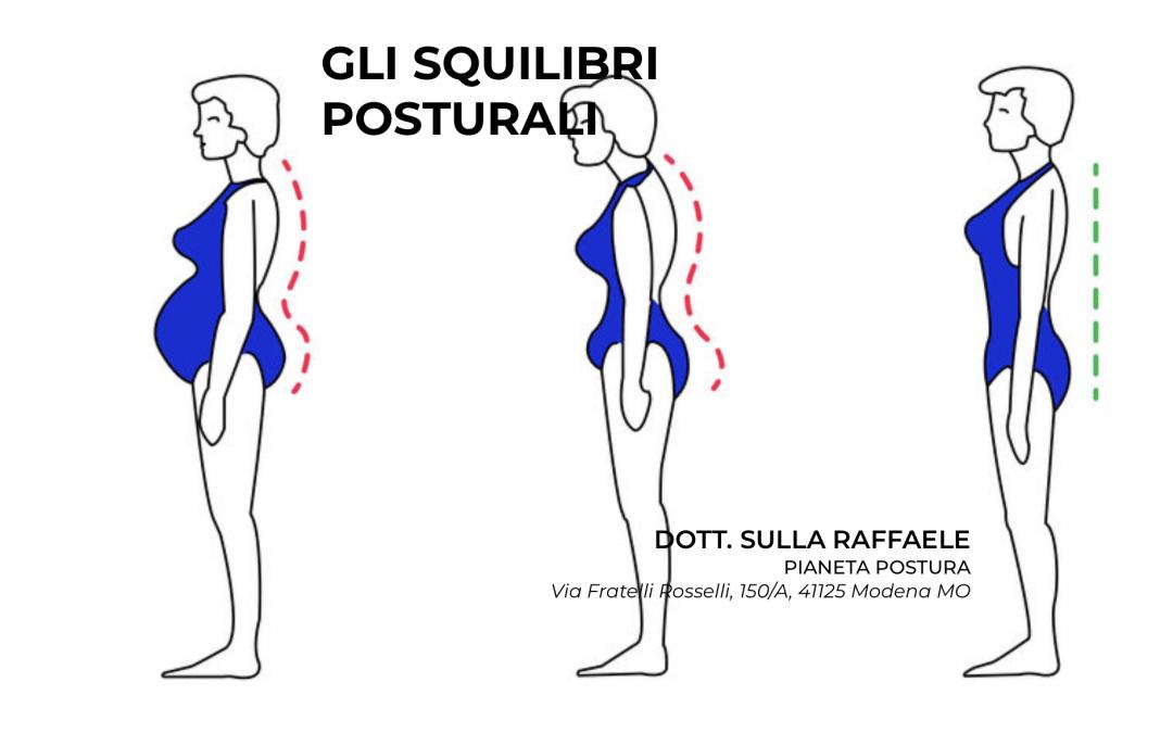Gli squilibri posturali